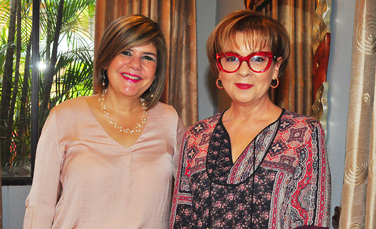 Kenia Lima y Vicky de Atala.