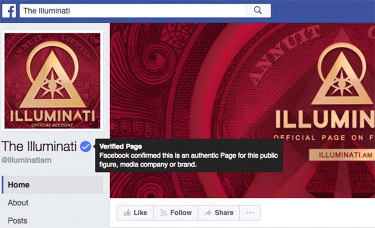 Los Illuminati tienen cuenta verificada en Facebook