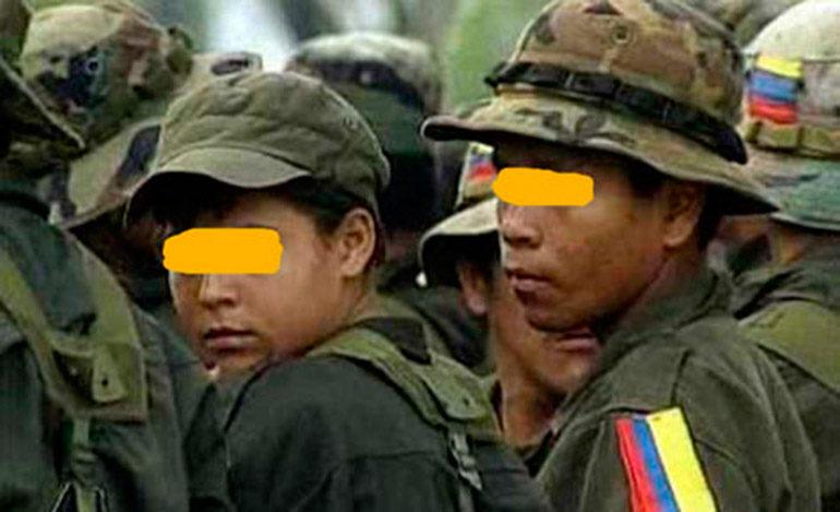 Las FARC entregarán la lista de menores reclutados el 24 de este mes