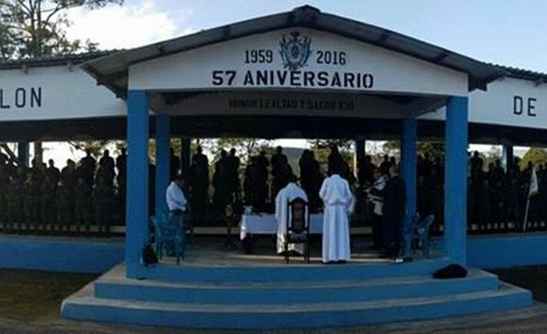 Batallón de Ingenieros conmemora 270 aniversario de virgen de Suyapa en Siguatepeque