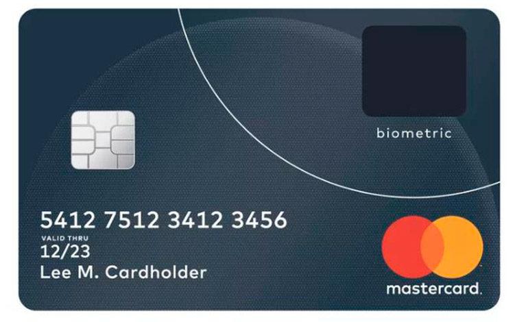 Crean la tarjeta de crédito con lector de huella digital