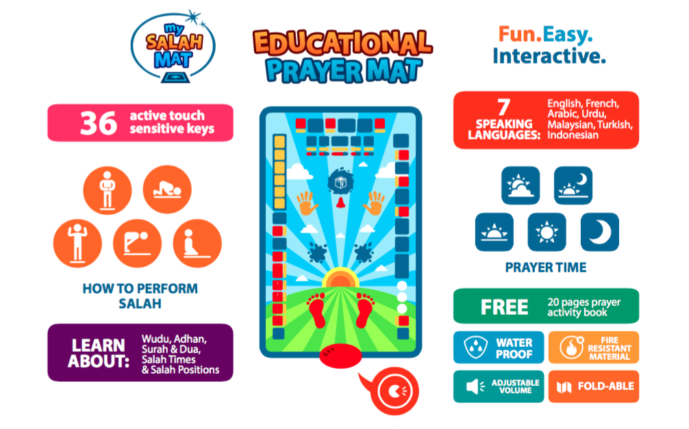 Projects | Educational Interactive Prayer Mat | LaunchGood