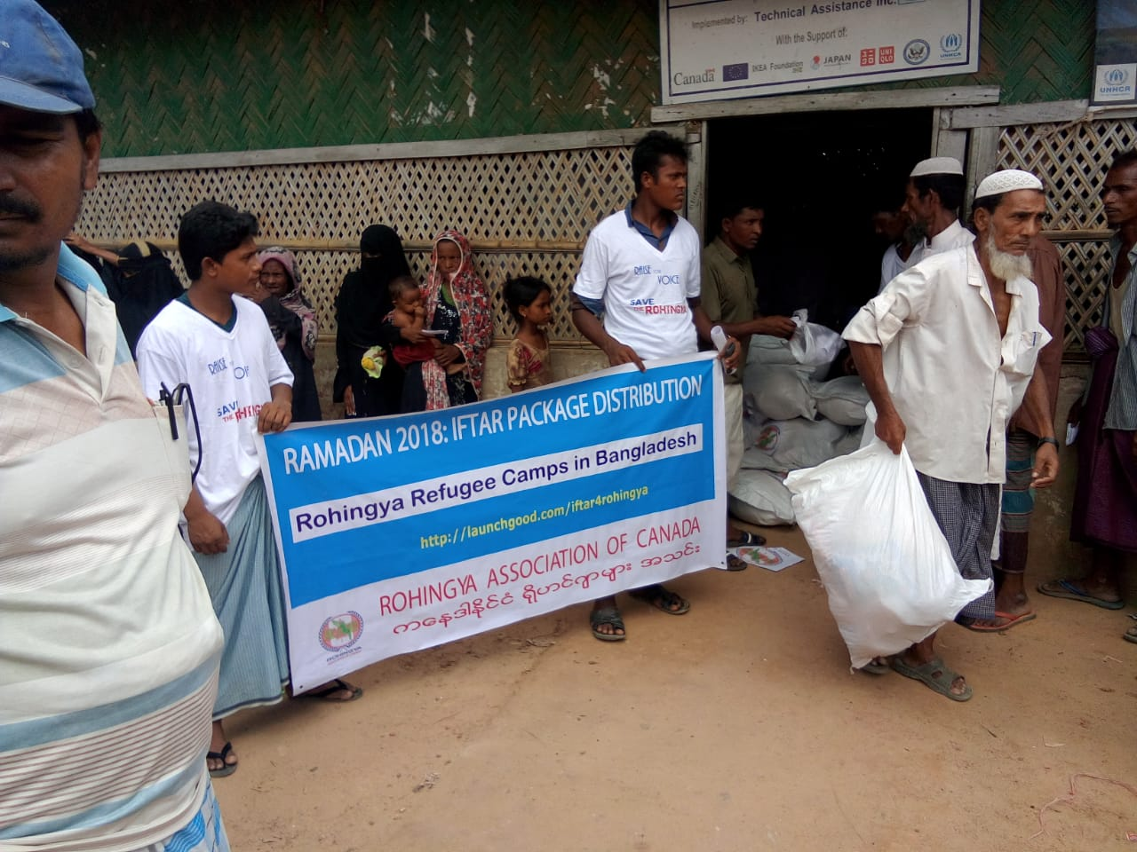 Projects | IFTARI For Rohingya | LaunchGood