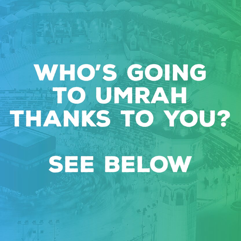 Projects | The Umrah Fund | LaunchGood