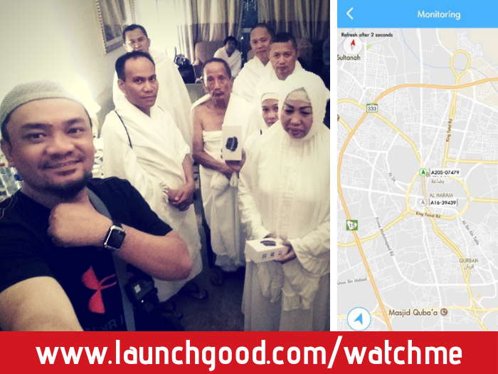 Projects | watchme: keeping Hajj and Umrah pilgrims safe with a GPS