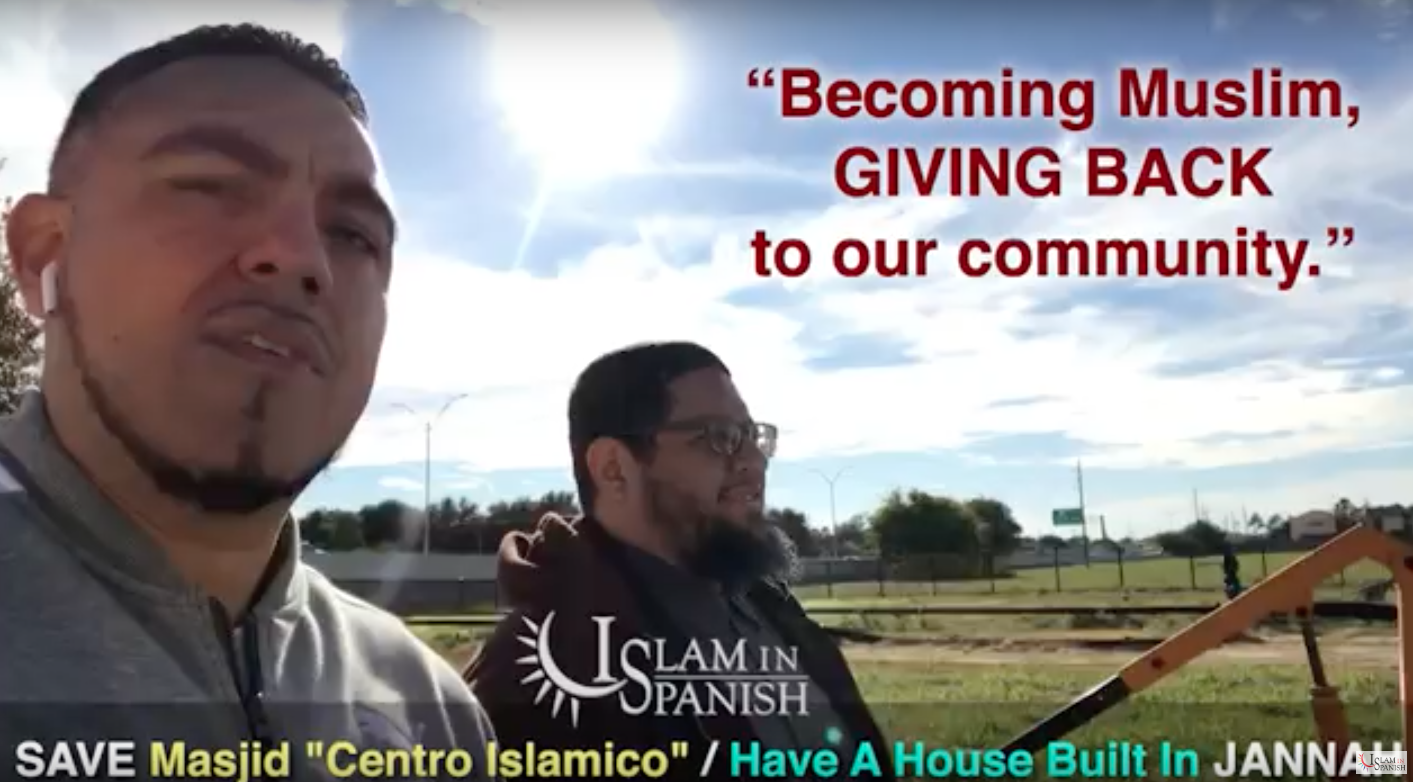 Projects | Building The Only Latino Muslim Led Islamic Center in The