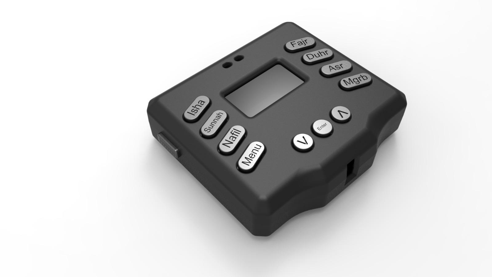 Projects | Digital Rakat Counter Device جهاز عداد الركعات