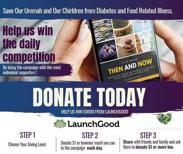 Projects | Fighting Diabetes, Heart Disease and Obesity in Our Ummah