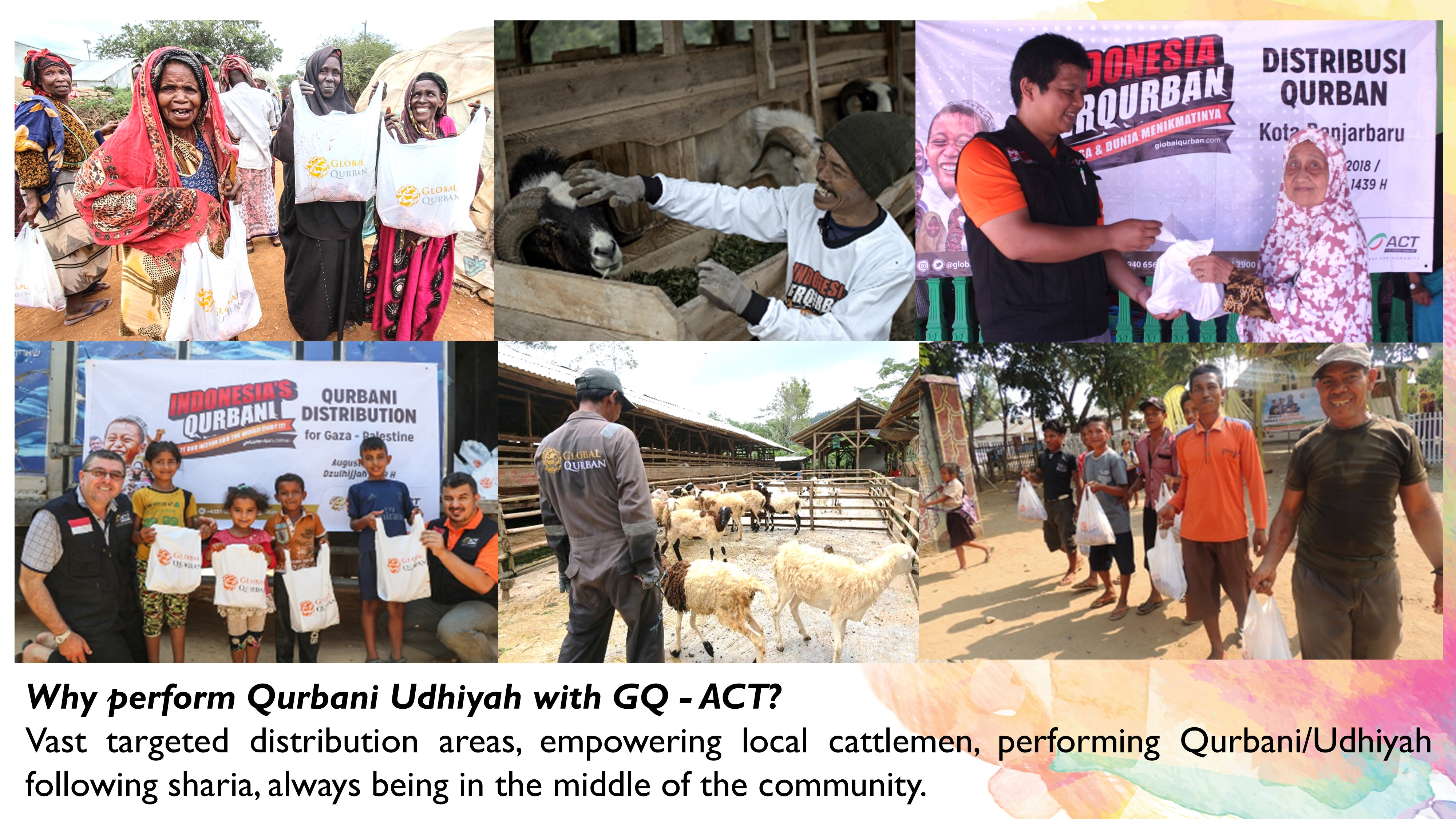 Projects | Qurbani - Udhiyah for Underprivileged Community