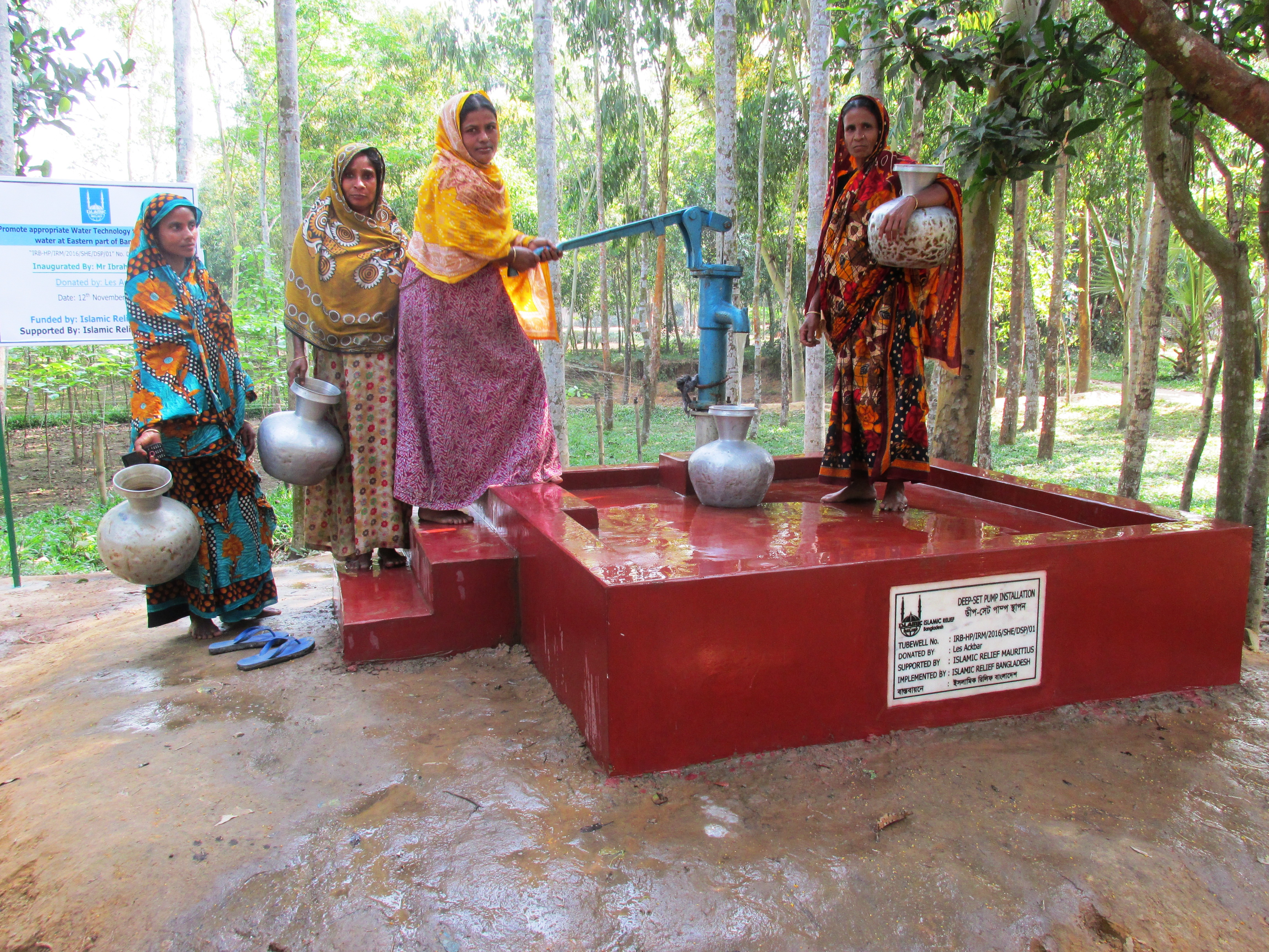 Projects Help Build Water Wells For The Community In Bangladesh Launchgood
