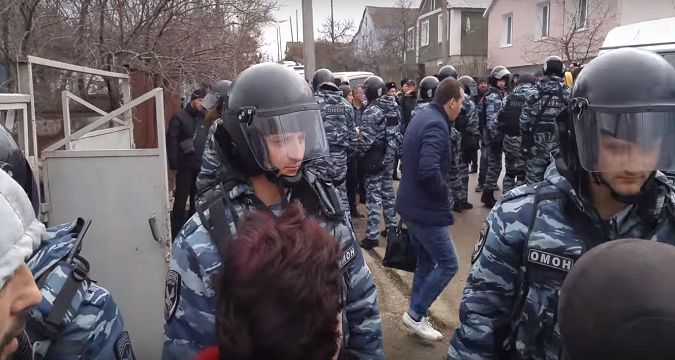Image result for Crimean Tatar community being kidnapped and arrested