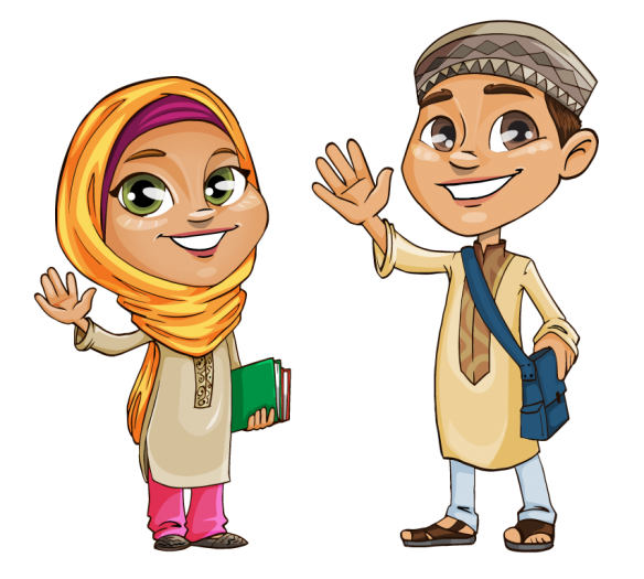 Cartoon Character Design Psd : Projects integrating islam into every school subject