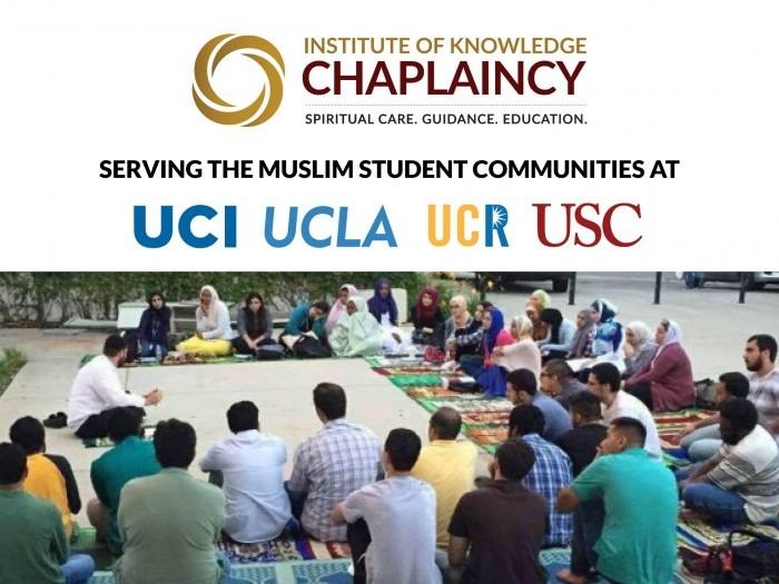 Projects   IOK Chaplaincy at UCLA, USC, UCI, UCR, UC San Diego, CSUN
