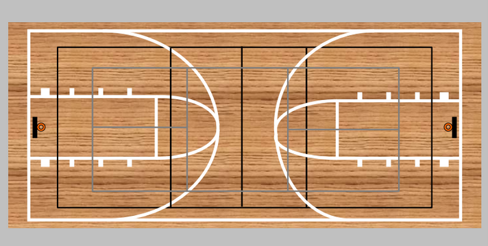 Projects new gym floor cai mcws launchgood for Sport court cost per square foot