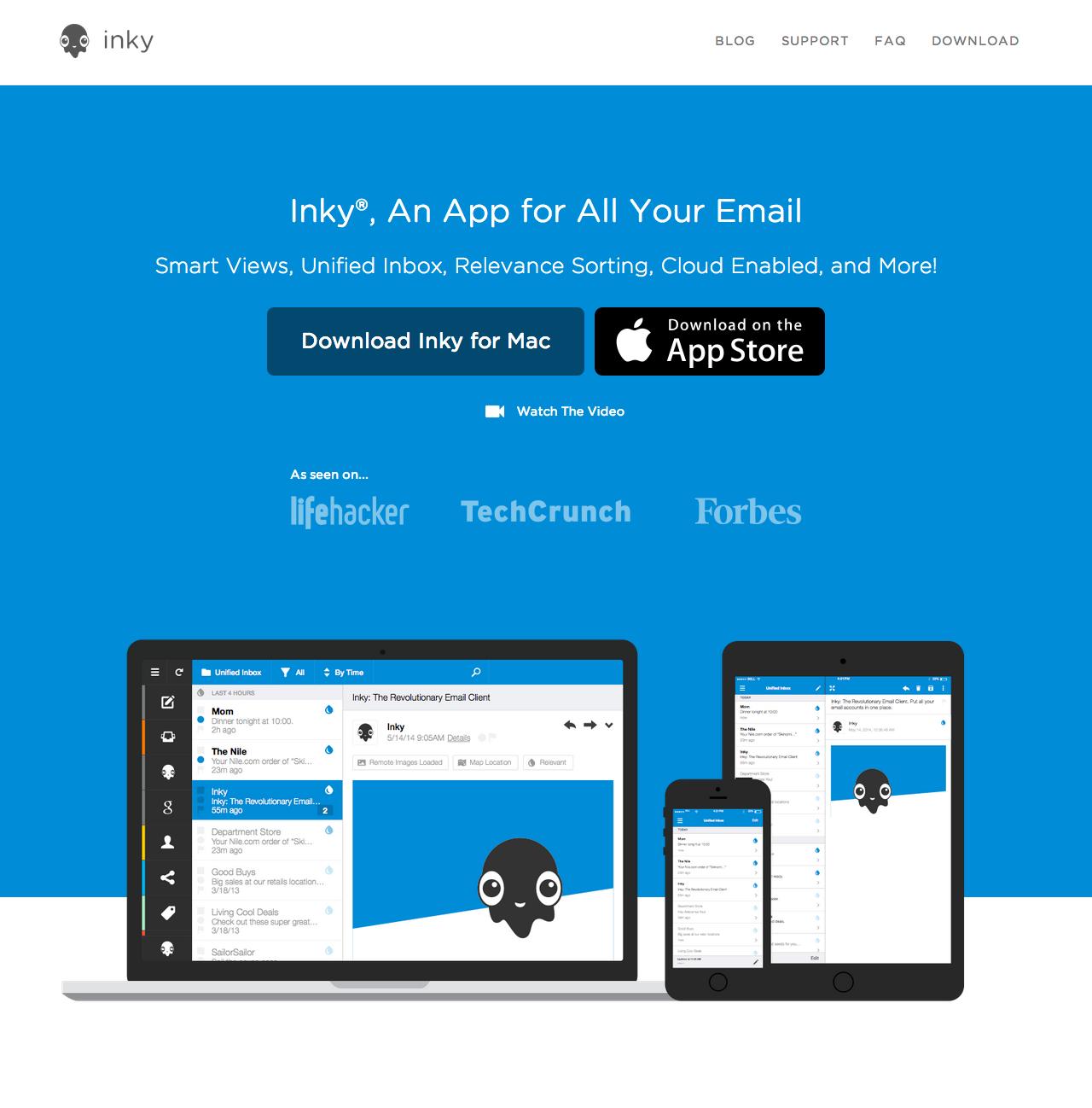 Inky.com Home Page