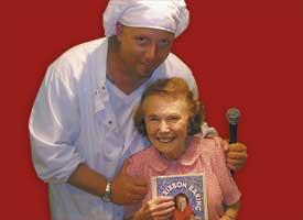Master Chef Klecko and Marjorie Johnson.