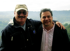 Franco Sala (left) and John Michael Lerma.