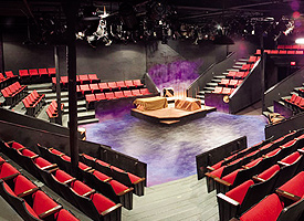 Theatre in the Round, Photo courtesy of Theatre in the Round