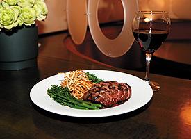 Flat-Iron Steak.