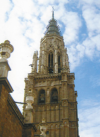 Spire of Toledo's Cathedral. Photo Courtesy of Carla Waldemar