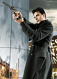 John Barrowman in Torchwood. Photo Courtesy of BBC