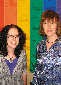 Natalie Klueg (left) and Angela Nichols. Photo Courtesy of University of Minnesota-Duluth