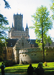 Marienburg Castle near Hannover. Photo by Carla Waldemar