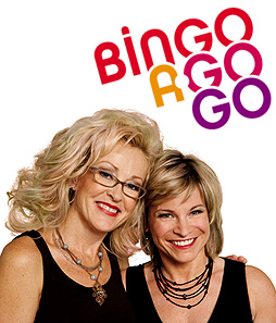 Lori Barghini and Julia Cobbs FM 107.1 — Drive Time Divas. Photo Courtesy of Bingo A-Go-Go