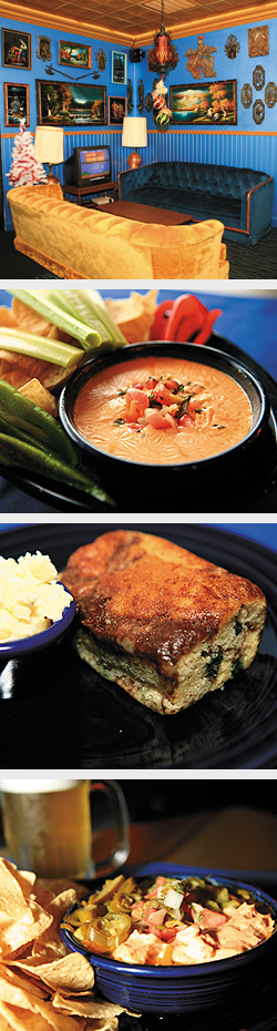 Beer Cheese Fondue. Famous Blueberry Coffee Cake. Cinco de Mayo Dip. Photos by Mike Hnida