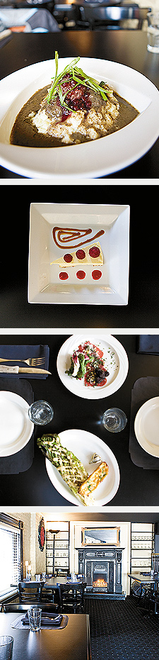 Swede Hollow Meatballs, Cheesecake, Carpaccio, Grilled Caesar. Photos by Hubert Bonnet