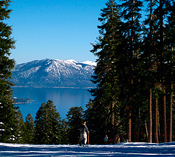 Northstar-at-Tahoe offers some of the most scenic ski runs in the West. Photo by Andrew Collins