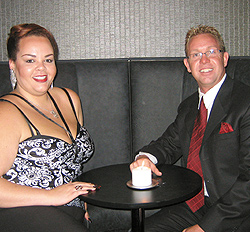 Gladius Owner Philip Berglin (right) and General Manager Amanda Chance Evans. Photo by Mike Hnida