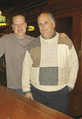 Joel Jansen and Roy Caples. Photo by George Holdgrafer