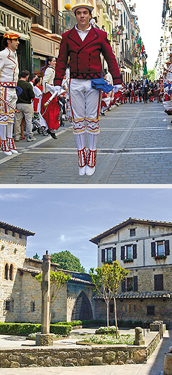 Traditional dance; Caballo Blanco. Photos Courtesy of City of Pamplona