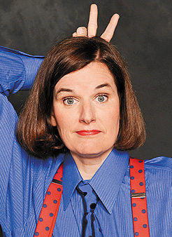Paula Poundstone. Photo by Michael Schwartz