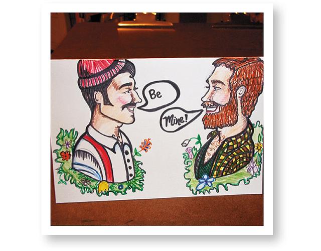 Lumberjack-Valentine