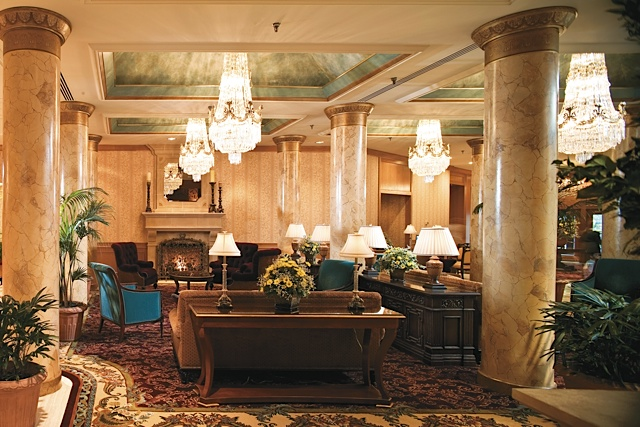 Luxurious Saint Paul Hotel lobby. Photos courtesy of The Saint Paul Hotel