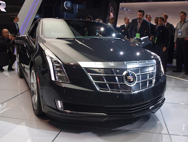 Cadillac ELR at NAIAS 13