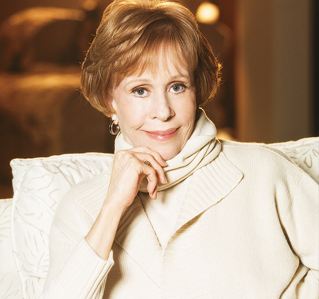 Carol Burnett. Photo by Randee St. Nicholas