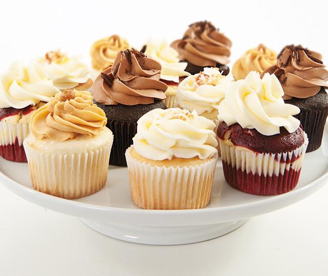 A delicious selection by A Cupcake Social. Photo by Hubert Bonnet