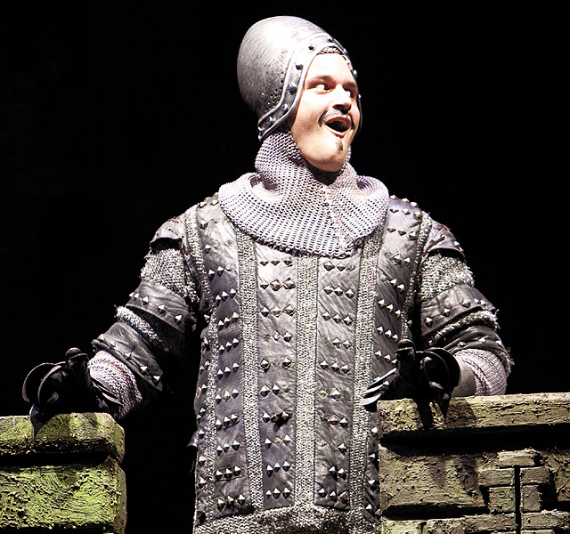 Monty Python's Spamalot. Photo by by Scott Suchman