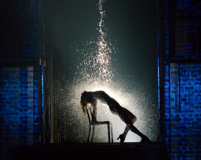 Emily Padgett as Alex Owens, Flashdance The Musical. Photo credit: Kyle Froman