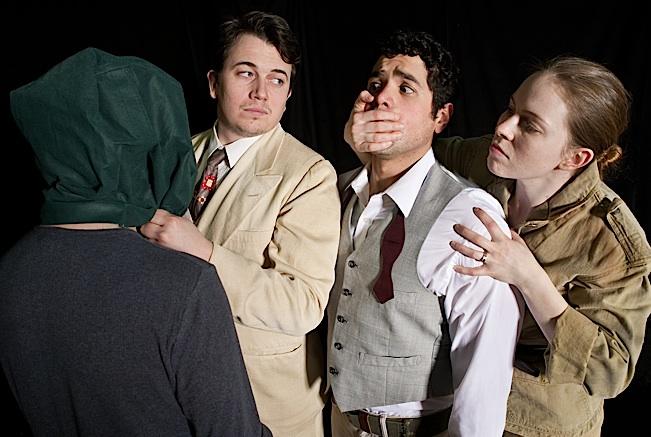 David Schlosser, Matt Rein, Ricardo Vázquez,  and Evelyn Digirolamo. Photo by Nancy Wong.