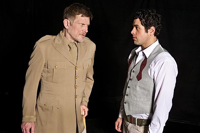 David Otto Simanek and Ricardo Vázquez. Photo by Nancy Wong.