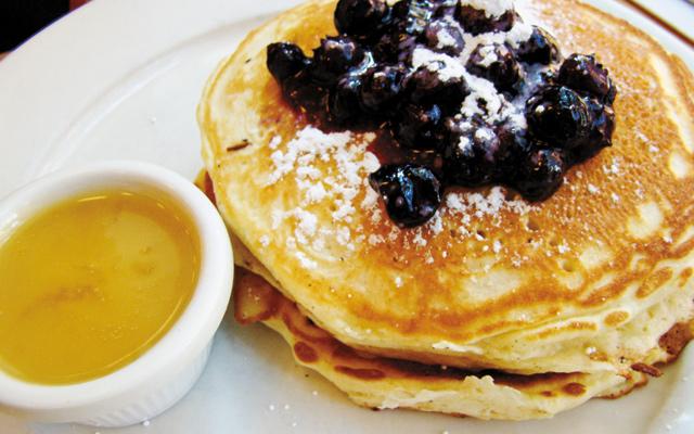 Clinton Street Bakery pancakes