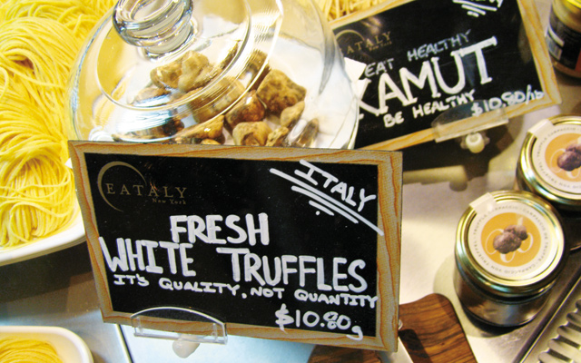 Go on a truffle hunt in the middle of the city.