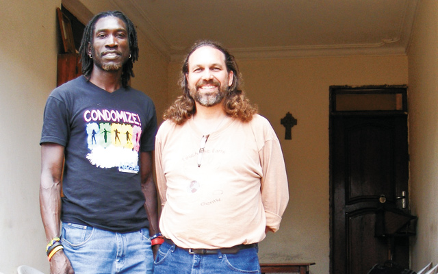 "John ""Longjones"" Wambere is a well-known gay activist with SPECTRUM and David. Photo courtesy of David R. Weiss"