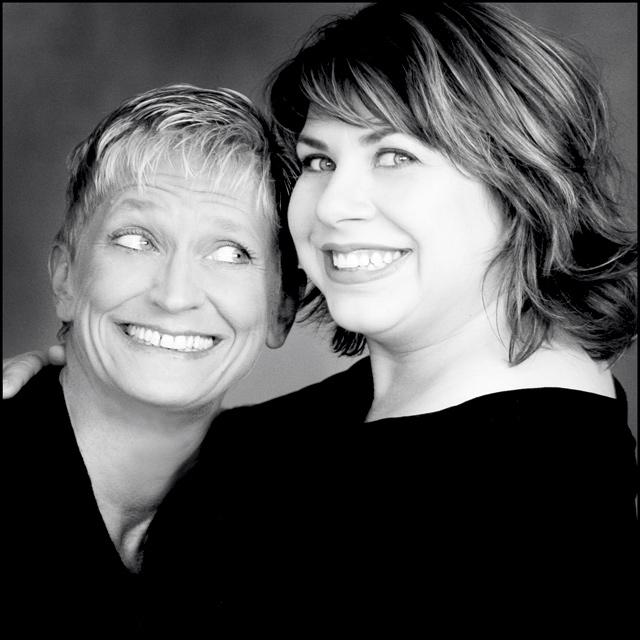 Lori Dokken and Erin Schwab. Photo by Ann Marsden