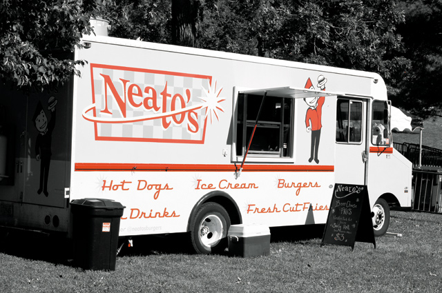 Neato's Food Truck. Photo by Samantha Olson