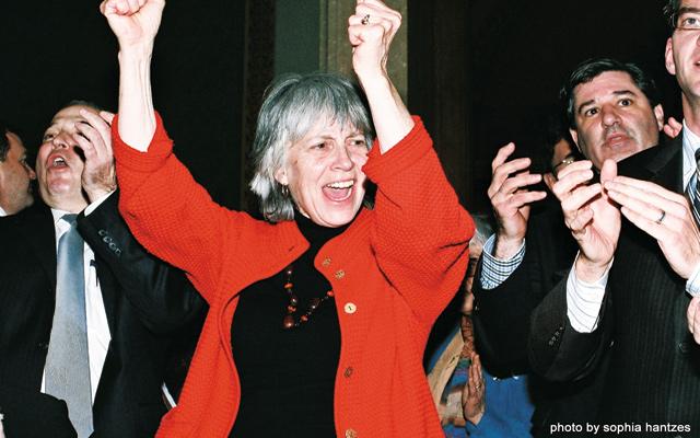 Representative Karen Clark. Photo by Sophia Hantzes